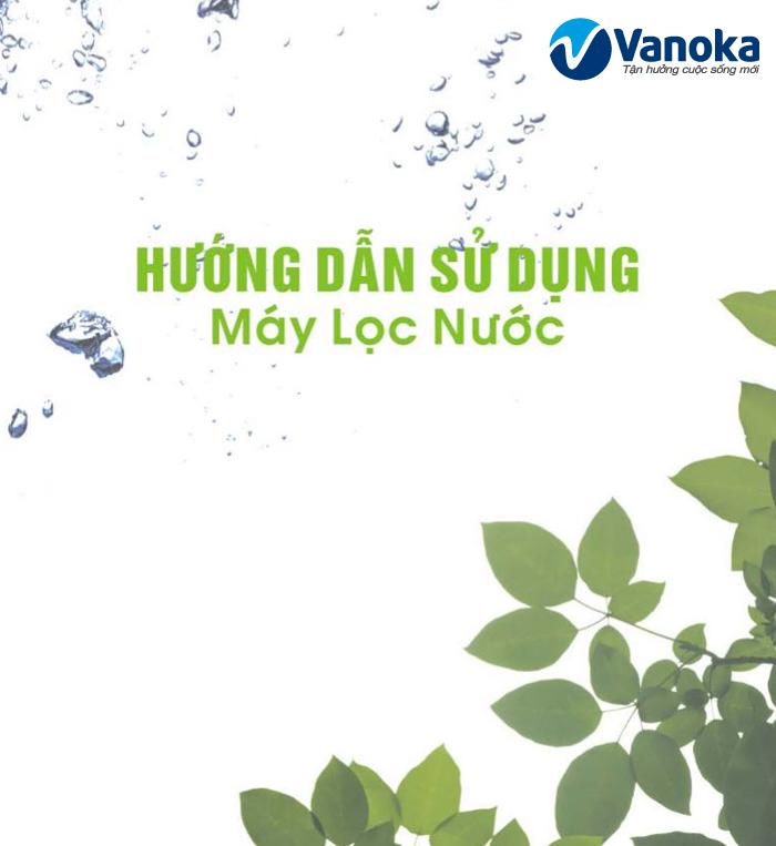 Huong dan su dung may loc nuoc Picenza RO-415H8