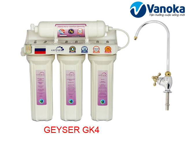 May loc nuoc Geyser GK4 - May loc nuoc Nano 4 loi loc