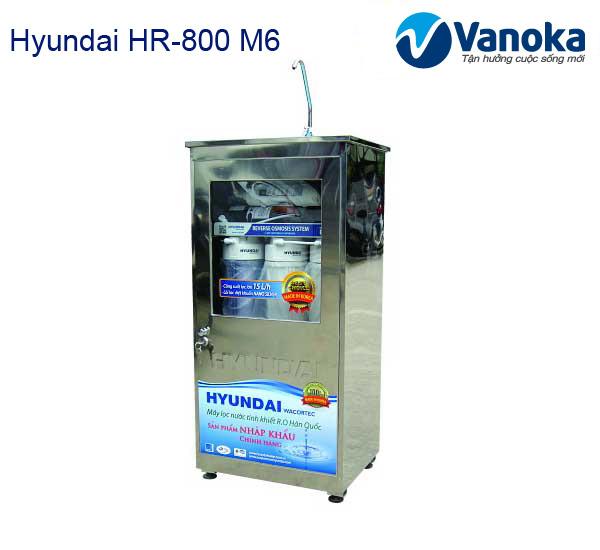 May loc nuoc Hyundai HR-800 M6 co tu inox khong nhiem tu