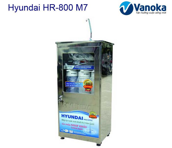 May loc nuoc Hyundai HR-800 M7 tu inox khong nhiem tu