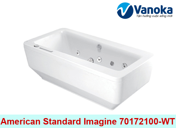Bon tam American Standard Imagine 70172100-WT co yem di kem