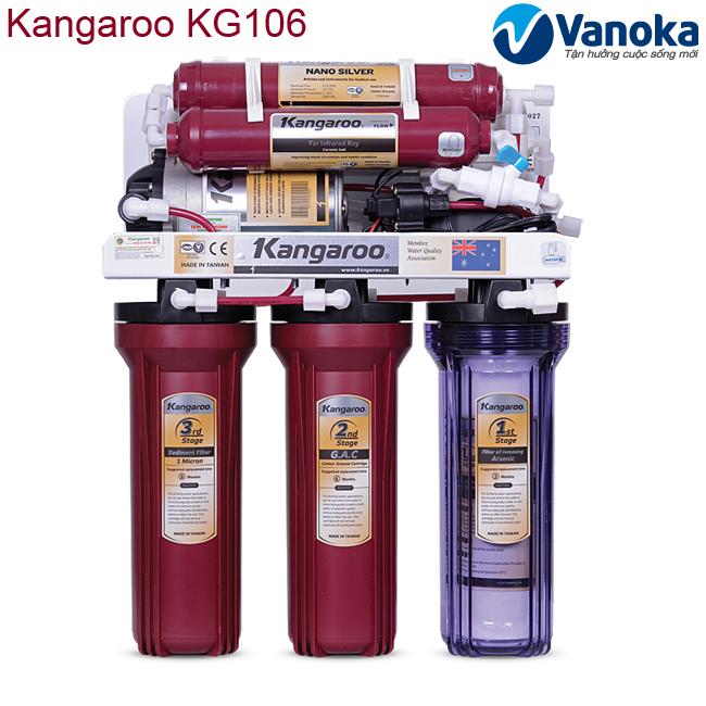 May loc nuoc Kangaroo KG106 6 cap loc