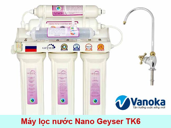 May loc nuoc Nano Geyser TK6