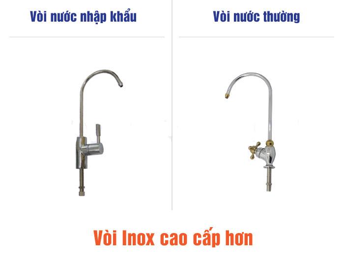 voi inox cao cap may loc nuoc Geyser Ecotar 4