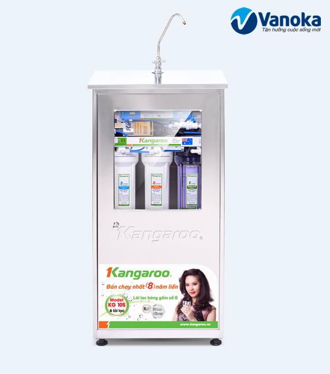 May loc nuoc Kangaroo KG105 duoc ban tai Showroom Vanoka