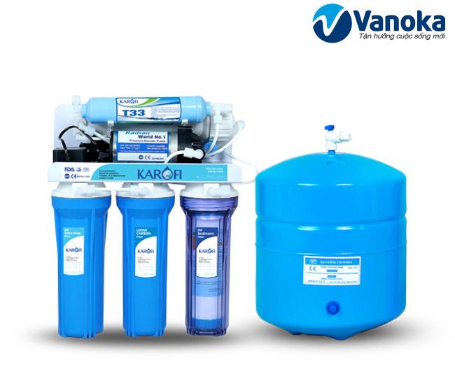 Thông số kỹ thuật Máy lọc nước Karofi KT5 (5 cấp lọc) không vỏ