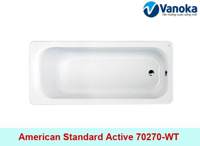Thông số kỹ thuật Bồn tắm American Standard Active 70270-WT