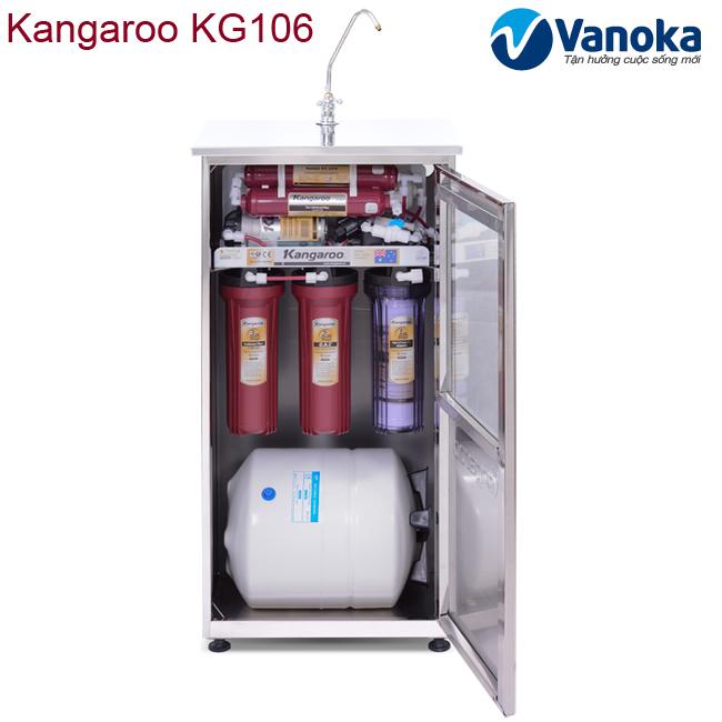 Thông số kỹ thuật Máy lọc nước Kangaroo KG106 (6 cấp lọc)
