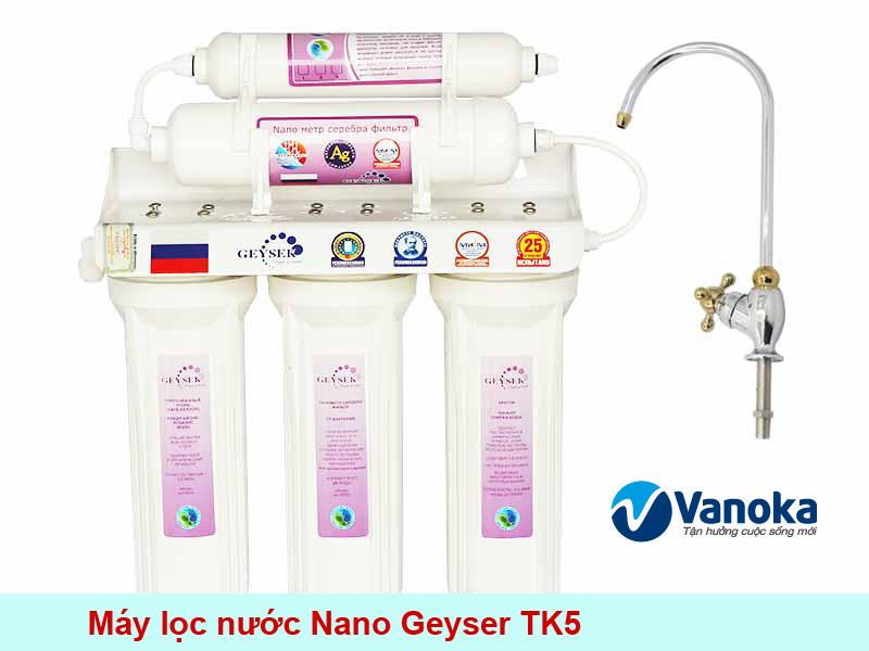 May loc nuoc Nano Geyser TK5