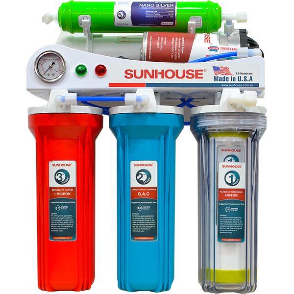 Kết quả hình ảnh cho máy lọc nước sunhouse