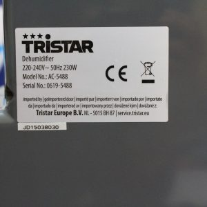 Giới thiệu máy hút ẩm Tristar thumbnail