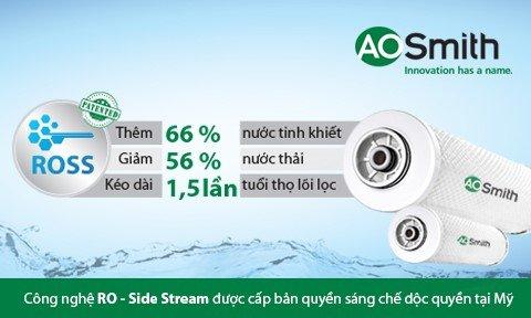 A.O Smith với công nghệ RO-Side Stream, tương lai ngành lọc nước thumbnail