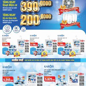 Chương trình khuyến mãi hè 2015 giá sốc tại Showroom Karofi Vanoka thumbnail