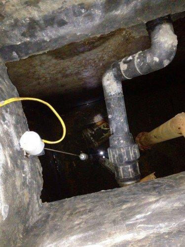 Hình 2: Bể chứa nước tại nhiều chung cư bẩn quá sức tưởng tượng của cư dân!