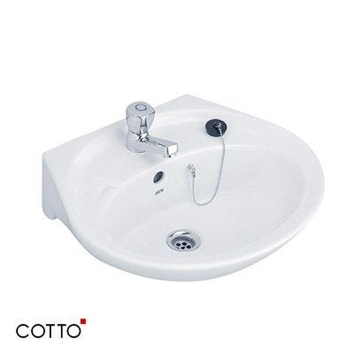 Chậu rửa treo tường COTTO C013 chính hãng giá rẻ