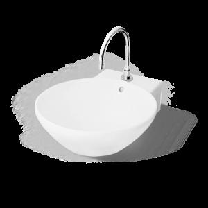 Chậu rửa Lavabo DEW Nahm NM-5110-SC/WT