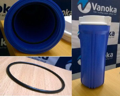Gioăng cao su bên trong các cốc lọc tránh tình trạng rò nước ra khỏi cốc