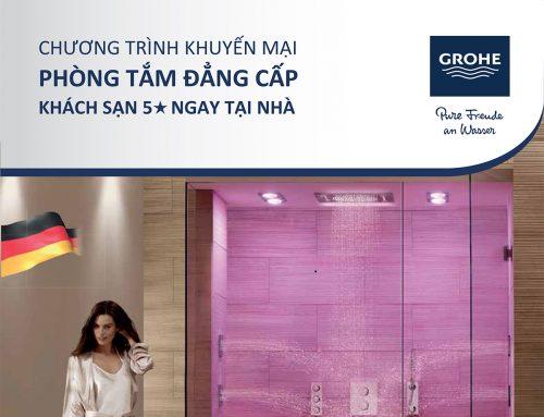 Khuyến mại phòng tắm đẳng cấp Grohe khách sạn 5 sao ngay tại nhà thumbnail