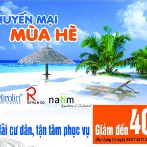 Khuyến mại mùa hè Mirolin – Royal & Co – Nahm lên đến 40% thumbnail