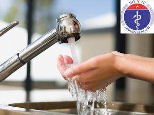 Tiêu chuẩn nước ăn uống của Bộ Y Tế ban hành thumbnail