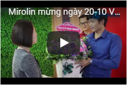 Mirolin mừng ngày 20-10 Vanoka Việt Nam 208 Nguyễn Lương Bằng