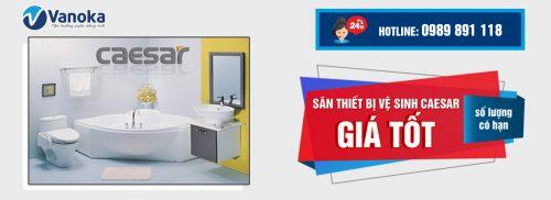Săn thiết bị vệ sinh Caesar giá tốt (số lượng có hạn) thumbnail