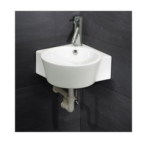 Chậu rửa mặt lavabo Caesar LF5238 treo góc