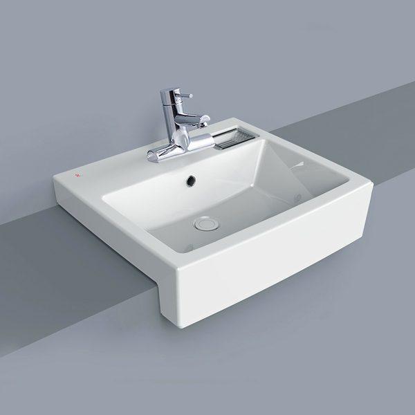 Chậu rửa mặt lavabo đặt trên bàn Royal & Co RWL712A nhập khẩu