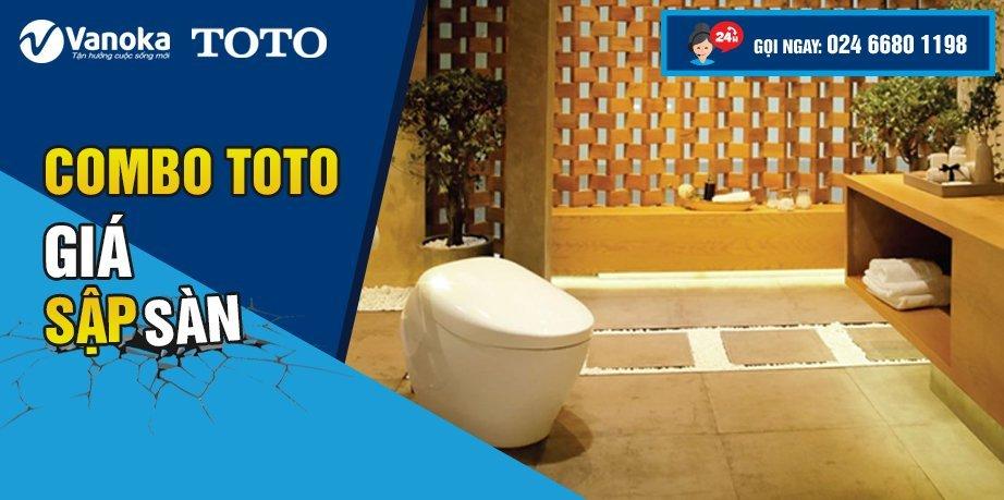 Khuyến mại Combo Toto