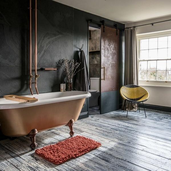 Phòng tắm với thiết kế cổ điển