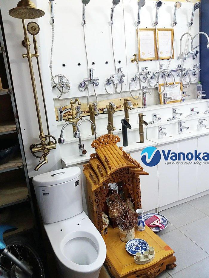 Phụ kiện phòng tắm Vanoka