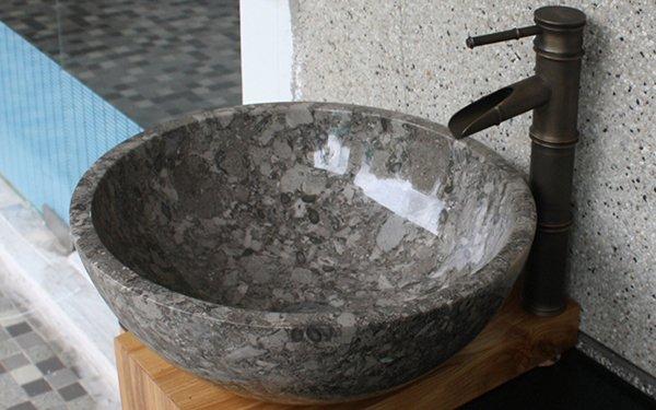 Chậu rửa mặt đá tự nhiên