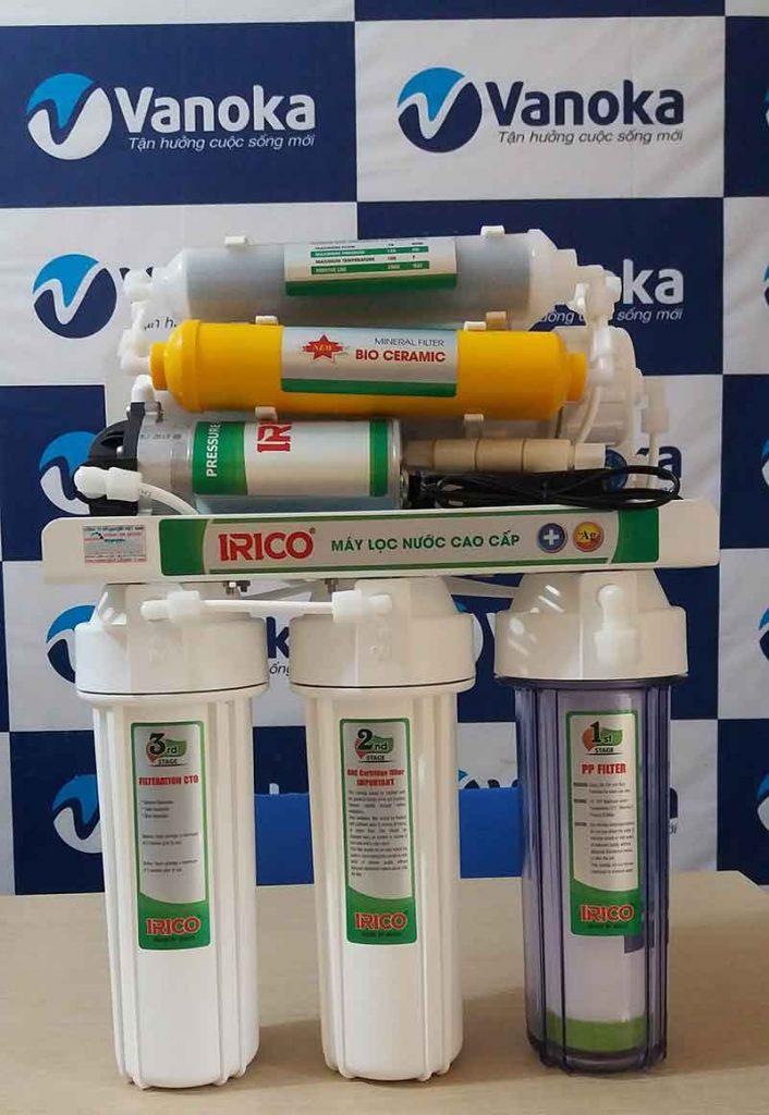 Máy lọc nước IRICO 7 cấp lọc