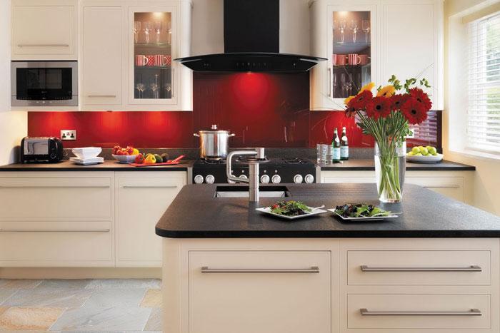 Thiết kế máy hút mùi đem lại không gian phòng bếp mang tính thẩm mỹ cao