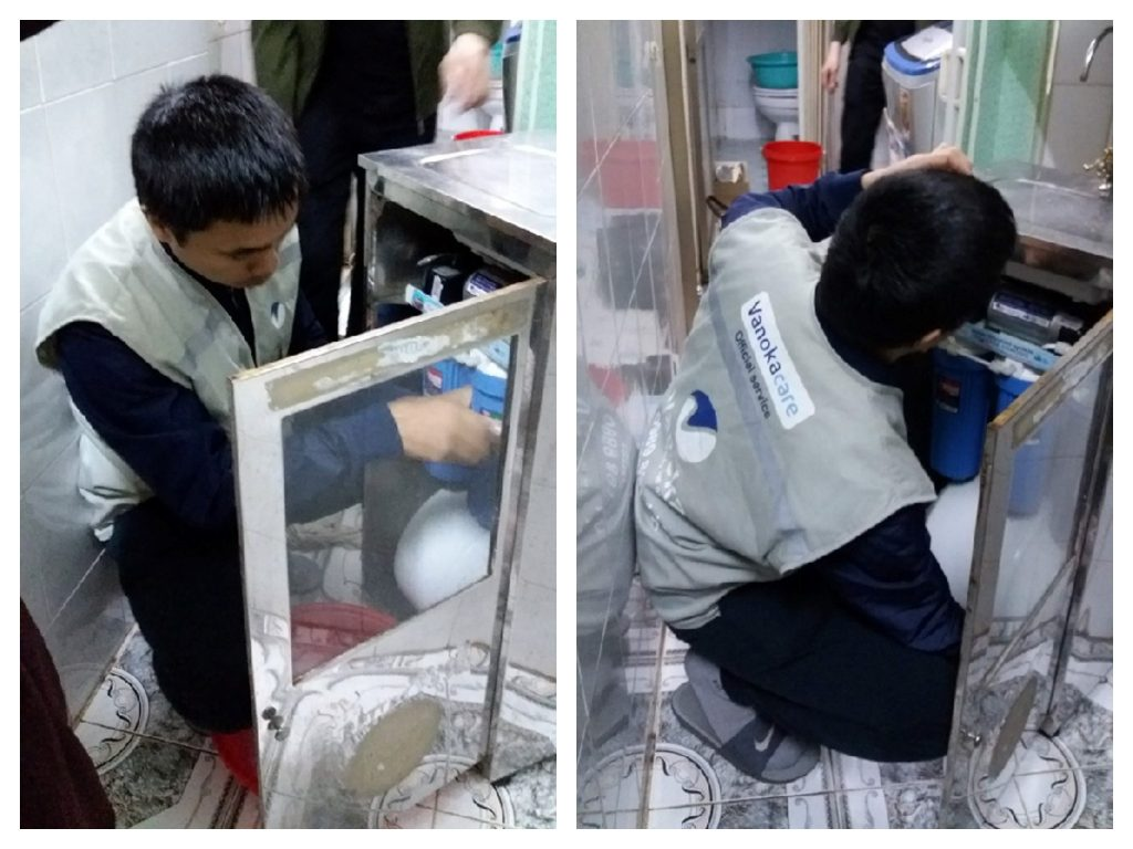 Cách thay lõi lọc máy lọc nước karofi tại nhà