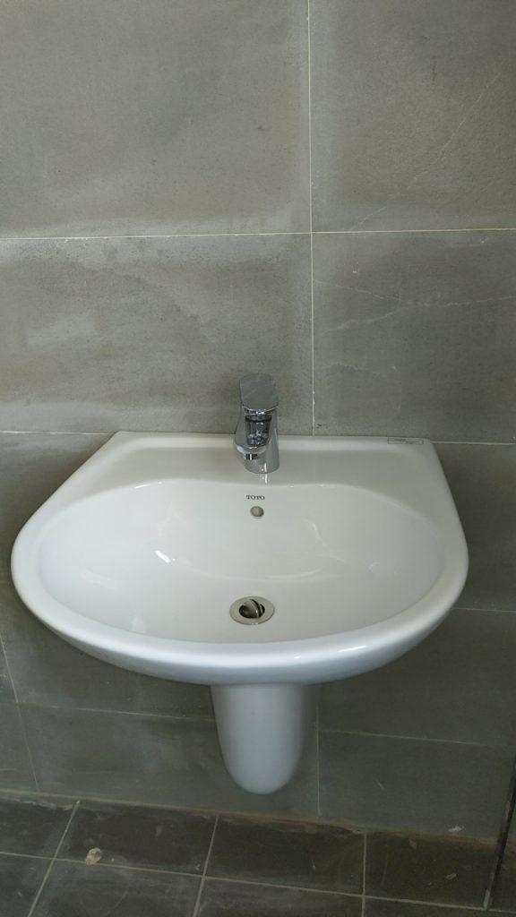 Thiết bị phòng tắm chậu rửa Lavabo.