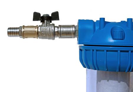 Tắt van điều khiển cấp nước cho máy lọc nước