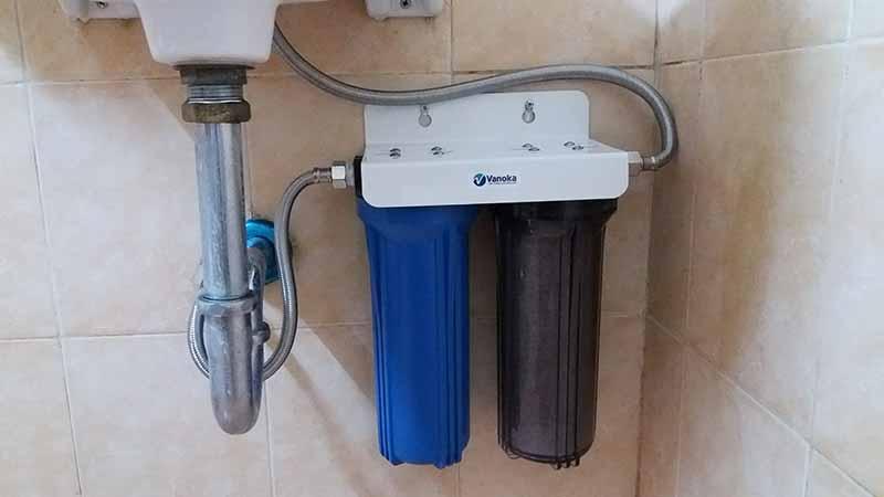 Bộ lọc nước sinh hoạt 2 cấp