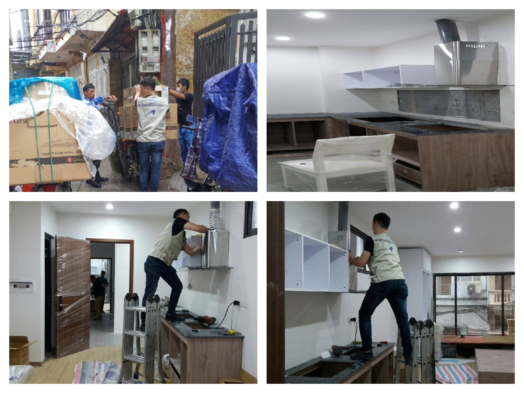 Dự án cung cấp thiết bị bếp Anh Thắng phố Trung Hòa Hà Nội