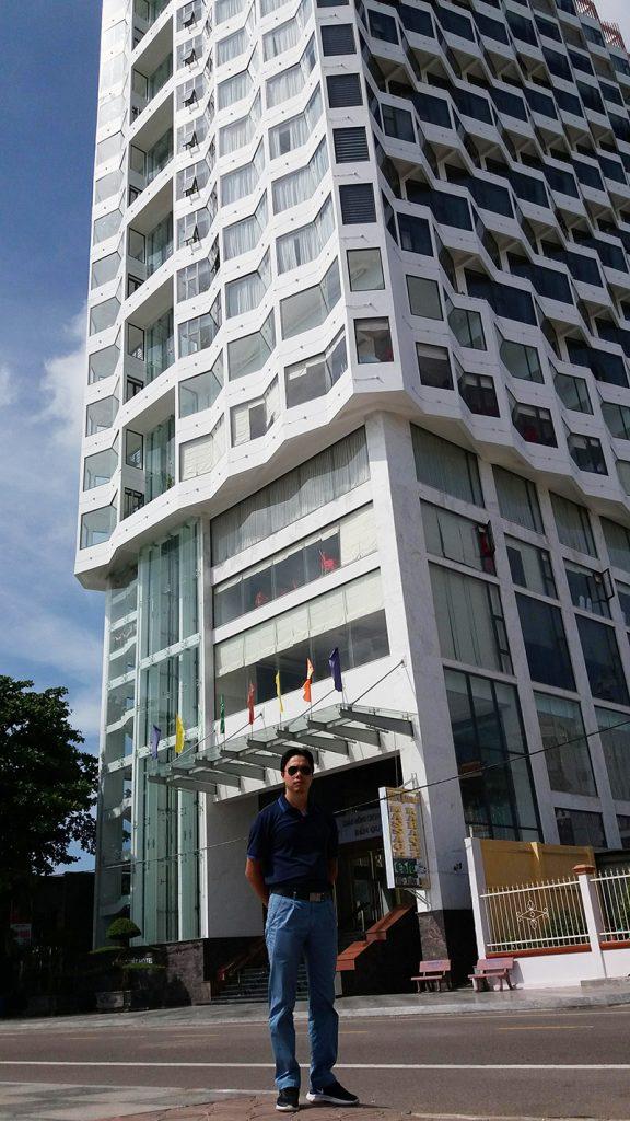 CEO của Vanoka trực tiếp đến Quy Nhơn giám sát dự án