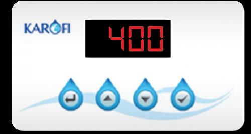 Màn hình hiển thị máy lọc nước Karofi IRO