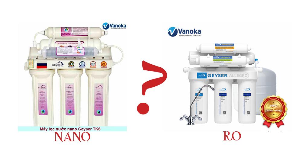 Máy lọc nước RO hay NANO tốt hơn?