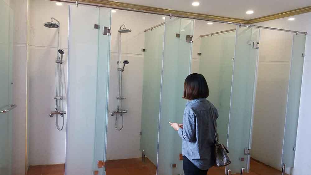 Một góc không gian dự án - Sản phẩm là thiết bị sen vòi Hàn Quốc Mirolin