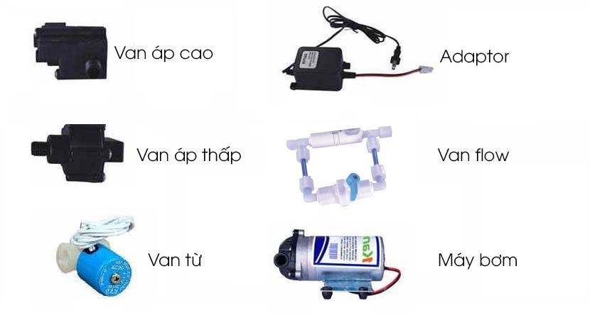 Van, máy bơm sử dụng ở máy lọc nước Karofi