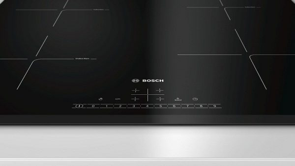 Bàn phím điều khiển của bếp từ BOSCH.
