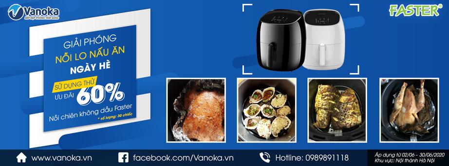 Vanoka giải phóng nỗi lo nấu ăn ngày hè của bạn!