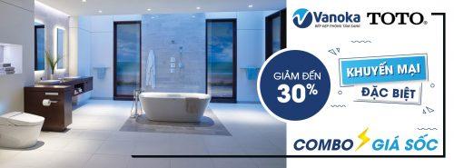 Combo TOTO khuyến mại đặc biệt giá sốc đến 30% tại Vanoka thumbnail