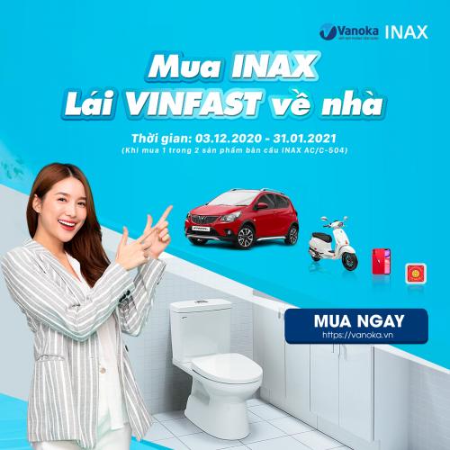 Thông báo triển khai chương trình mua Inax lái Vinfast về nhà thumbnail