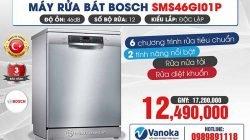 Khuyến mại SỐC máy rửa bát Bosch năm 2021 thumbnail