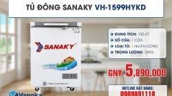 Xả kho tủ đông, tủ mát Sanaky giảm đến 40% thumbnail